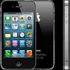 Apple IPHONE 4S - 8GB-Nero o Bianco (Sbloccato) Smartphone, ultimo iOS
