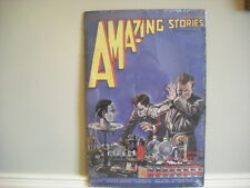 Amazing Stories, August, 1926 Tin Sign H.G. Wells New York Comic Book
