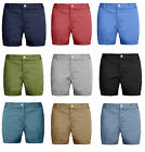 Mens Chino Shorts Cotton Summer Half Pant Casual Jeans Cargo Combat Casual New.