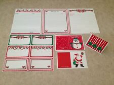 Christmas Cooking Baking Recipe Cards & Gift Tags Perfect For Cookie Exchange
