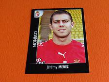N°276 MENEZ AS MONACO LOUIS II ROCHER PANINI FOOT 2008 FOOTBALL 2007-2008