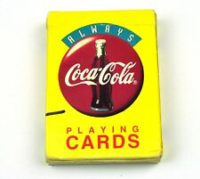 Coca Cola Coke Spielkarten Karten USA Playing Cards - Always Logo gelb