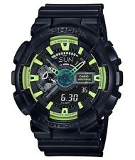 Casio G Shock * GA110LY-1A Anadigi Sporty Illumi Lime & Black Gshock COD PayPal