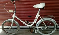 Vintage Very Rare West German Complete Folding Bicycle by JC Penny