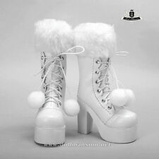1/3 BJD Boots Supper Dollfie Dod MID EID SOOM LUTS DZ Shoes Snow white Boots 280