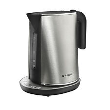 Hotpoint WK 30E AX0 UK Digital Control Kettle - Stainless Steel