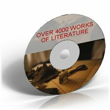 4000 Classic Works of Literature ON CD