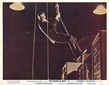 To Trap A Spy Man From UNCLE Robert Vaughn lobby card swinging on chain