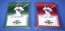 Lot of 2 Ronald White Autographed Baseball Cards - Montreal Expos - Donruss