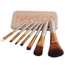 Cosmetic 7pcs/Set Brush Pro Powder Foundation Eyeshadow Makeup Brushes Tool