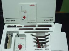 Marklin Z Gauge Starter Set 81466 Pennsylvania 110v TRANSFORMER Steam Locomotive