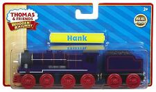 Learning Curve Thomas & Friends WOODEN RAILWAY Train Hank 100% Authentic Wood
