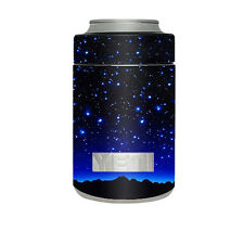 Skin Decal for Yeti Rambler Colster Cup / Stars over glowing Sky
