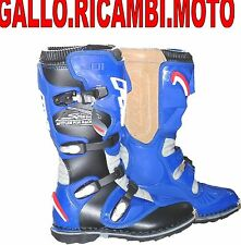 STIVALI MOTO CROSS-ENDURO FM RACING BLU-NERO