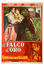 manifesto 2F originale IL FALCO D'ORO Anna Maria Ferrero Massimo Serato 1955