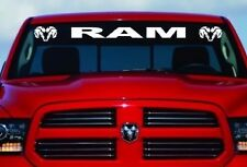 "DODGE RAM HEAD LOGO Windshield Vinyl Decal Sticker Custom 40"" Vehicle Graphics"