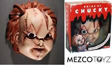 Maschera Chucky Bambola Assassina Bride of Chucky Adult size Mask by Mezco Toys