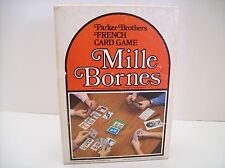 Vintage Mille Bornes French Card Game 1964 Parker Brothers Complete
