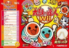 Used Wii Taiko No Tatsujin W/tatacon Japan Import