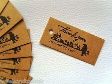 """25 x gioielli prezzo di visualizzare le etichette regalo etichette ~ """"grazie & HAND MADE FOR YOU"""""""