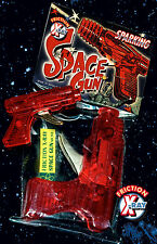 SPACE GUN 70er X RAY GUN SPARKING FRICTION   SPIELZEUG PISTOLE   SCIENCE FICTION