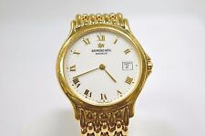 W386~ Raymond Weil Gold Tone Men's Watch Model 5568