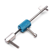 Civil Lock Quick Forced Open Lock Picks Locksmith Tool Silver Blue+Track Number