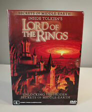 Secrets of Middle-Earth Inside Tolkien's Lord of the Rings 3 DVD - FREE SHIPPING