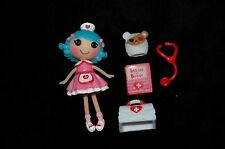 Lalaloopsy mini Rosy Bumps & Bruises nurse doll rare variant cross