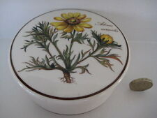 RARE VILLEROY & BOCH   BOTANICA  CANDY TRINKET BOX LIDDED POT MEDIUM