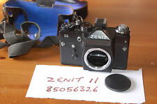 ZENIT 11 35mm SLR Camera Body, M42 screw (Pentax/Praktica/Zenit), Flash and Case