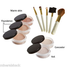 Mineralshack natural mineral makeup  Fairly Neutral Matte 10piece set