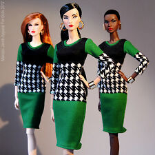 Basic Graphic Dress fits Barbie, Fashion Royalty, fr2 & Poppy Parker