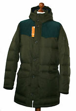 Hugo Boss 50256608 Medium Green Odos Kapuzen Daunen Mantel Jacke Parka Gr.48