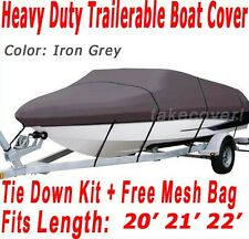 Maxum Marine 2000/SR 2000 SR Trailerable Boat Cover Grey Color Z107