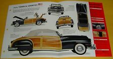 1947 Chrysler Town & Country Convertible Woody 324 ci I8 Info/Specs/photo 15x9