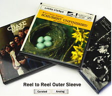 Reel to Reel Tape Supplies: Outer Sleeves. Reel Tape Box, Leader Hold Down Tape