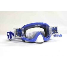 RIP N ROLL FULLY LOADED HYBRID MOTOCROSS ENDURO MX XL GOGGLES RnR - NOBO BLUE