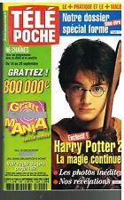 H - Télé Poche N°1909 Harry Potter 2 daniel radcliffe