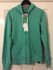 BNWT Men's/Women's BENCH Light Pastel Green Full Zip Hoodie. Size: XL
