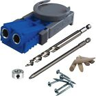 Kreg R3 Pocket Hole Jig Joinery System Kit + Free Screws Tool New In Package