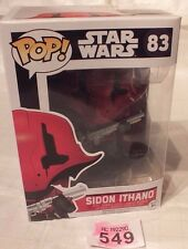Star Wars FUNKO POP Sidon IIthano STARWARS (83) Action Figure LOT P549