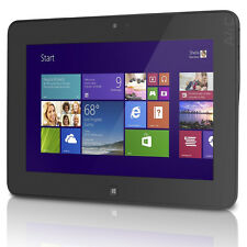 Dell Latitude 10 ST2 Windows 8 64GB Wi-Fi Tablet Black Intel Atom 1.8GHz 10.1""