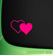 HEART CAR STICKER EURO GIRL STICKER DUB FOR CORSA SAXO CLIO