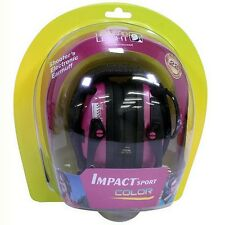 Howard Leight R-02523 Impact Sport Electronic Earmuff Pink