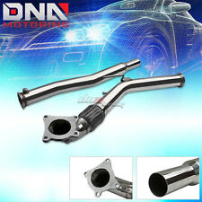 FOR 06-11 AUDI A3 VW JETTA/GTI MK5 2.0T STAINLESS TURBO FLEX EXHAUST DOWN PIPE