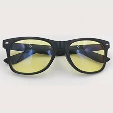 Computer Glasses Readers Gaming Glasses For Kids Adults Black Frame Yellow Lens