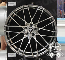 "4x Tomason TN19 8,5x20"" 5x112 ET45 ML72,6 Dark hyper black polished Audi VW Seat"