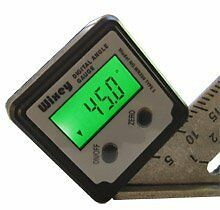 Best Digital Angle Gauge Cailbrator w Backlight, Type 2 Wixey WR300