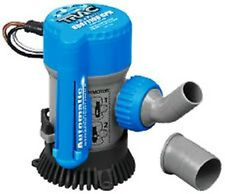 "Universal Submersible Self Priming Auto Bilge Pump 3/4""@ 800GPh,1-1/8""@1100GPH"